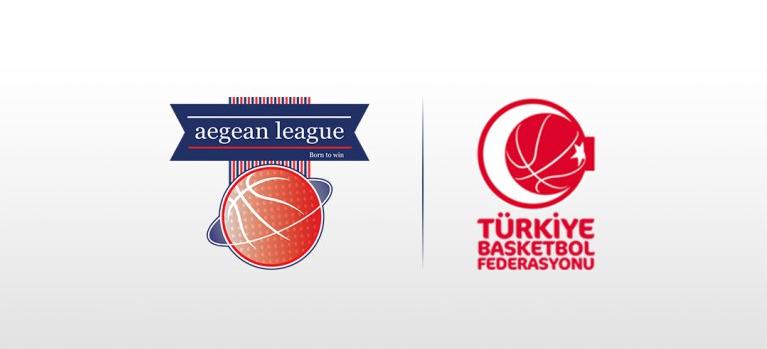 2018-2019 Sezonu için Aegean League ile Türkiye Basketbol Federasyonu arasında anlaşmaya varıldı...